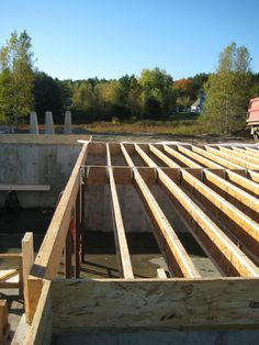 Solid Joist Bridging Homebuilding Amp Construction