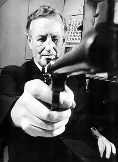 """""""You only live twice. Once when you are born and once when you look death in the face."""" ~ Ian Fleming, b. 28 May 1908"""