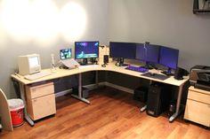 gaming setups | Cool Computer Setups and Gaming Setups