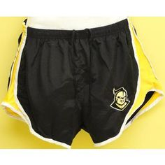 Black/Gold Running Shorts  @ Gray's College Bookstore