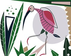 """Check out new work on my @Behance portfolio: """"Ibis surface pattern design"""" http://be.net/gallery/60875659/Ibis-surface-pattern-design"""