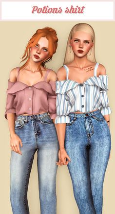 Second collection of stuff I've been hoarding plus a couple stuff I wanted for Nell *u* I hope you guys like it! • 100% new mesh and textures by me. Fully recolorable (except for the stencils in the...
