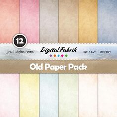 Digital Scrapbook Paper, Digital Papers, Old Paper Background, Web Project, Cardmaking, Craft Projects, Rustic, Prints, Cards
