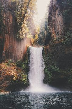 Love the waterfalls, it is a powerful energy for recharging.
