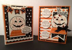 Stampin' Up! Halloween Cards by Kris Dickinson