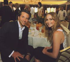 Jennifer Lawrence and Bradley Cooper at the Hollywood Foreign Press Association Luncheon on August 9th. They have 2 movies together this year!