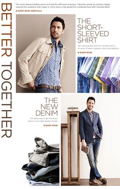 Banana Republic: http://bananarepublic.gap.com/