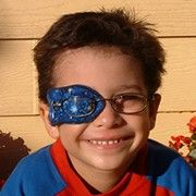 Patch mate - colourful, comfortable, reusable eye-patch for children