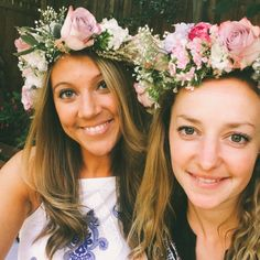 Today we welcome to our Hen Party Blog Little Miss Notting Hill & Her Flower Crown Making Hen Party. It is seriously pretty!