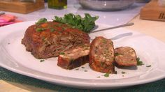 Mexican Meatloaf with Tequila Ketchup