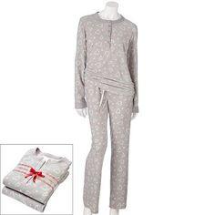 3 Croft and Barrow Microfleece Printed Pajama Gift Set  momselect   yoursantastory Croft And d8d0153c8