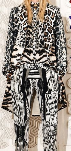 Not A Ragg to Riches Tale Roberto Cavalli Resort 2014