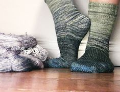 On the virtues of knitting scrappy socks by Andrea @ This Knitted Life