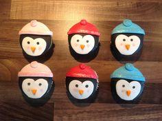 Cupcake pinguïn
