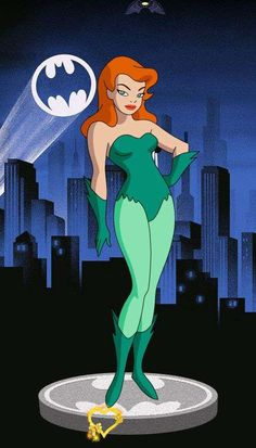 BTAS - Poison Ivy, Roy Hakim  <br> Poison Ivy Comic, Poison Ivy Batman, Poison Ivy Cartoon, Dc Poison Ivy, Poison Ivy Dc Comics, Poison Ivy Cosplay, Poison Ivy Costume Diy, Adult Mickey Mouse Costume, Frozen Costume Adult