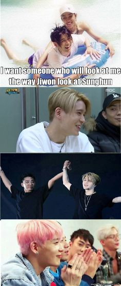 Jiwon to Sunghun from then till now.