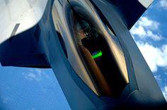fabforgottennobility:  F-22 Raptor (U.S. Air Force photo/Master Sgt. Jeremy Lock)