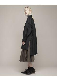 YOHJI YAMAMOTO | Smock Shirt | Shop at La Garçonne