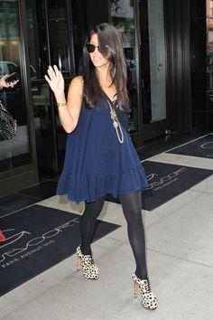 Kourtney Kardashian - I love her and her style.