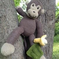 Knitting: Gavin the Monkey