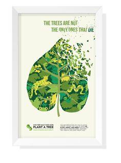 Advocacy Poster: Deforestation on Behance