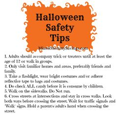 Halloween Safety Tips by Missingkids.com | A Spooktacular ...