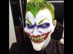 Maquiagem CORINGA/Joker Makeup - Victor Nogueira - YouTube