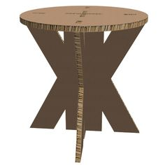 Cardboard stool Karton Design, Stool, Table, Furniture, Home Decor, Decoration Home, Room Decor, Tables, Home Furnishings