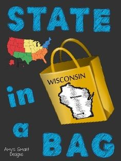 This State in a Bag project helps your students develop research and presentation skills. As students research their chosen state they create a project that will teach the class about that state's geography, economy, sports, history, resources, and tourism.