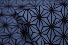 Ocean Net Black - Japanese Cotton - Tessuti Fabrics - Online Fabric Store - Cotton, Linen, Silk, Bridal & more