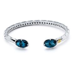 Diamond Bracelets ❤ liked on Polyvore featuring jewelry, bracelets, accessories, blue, 18k925 collection, diamond bracelets, blue jewelry, hinged bangle, diamond bracelet bangle and bangle bracelet