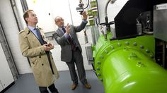 New energy centre at Waitrose Bracknell opened by Minister of State for Energy and Climate Change