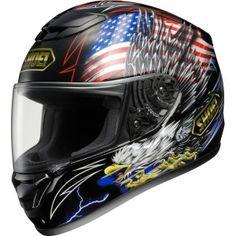 Shoei Prestige Qwest Road Race Motorcycle Helmet