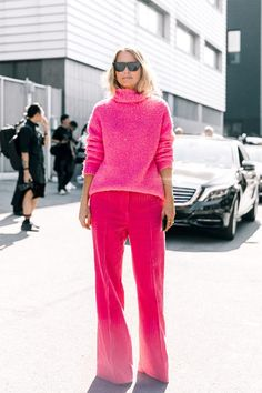 15 Outfits That Prove Wearing Pink Is Underrated via @WhoWhatWearUK