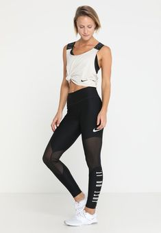 get cheap fe98b 2bcb2 Nike Performance TANK CROSSOVER - T-shirt de sport - desert sand black -