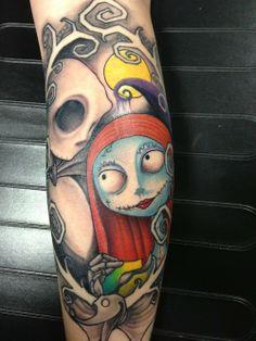 Nightmare Before Christmas tattoo