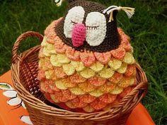 brioschka / crochet owl