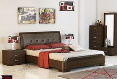 Wardrobe Design Bedroom, Bedroom Bed Design, Closet Bedroom, Home Decor Bedroom, Simple Furniture, Bedroom Furniture, Furniture Design, Sleigh Beds, Bed Designs