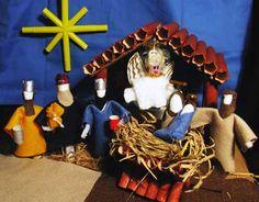 TAMPON nativity scene!