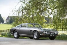 F&O Fabforgottennobility — lavelocita: 1967 Iso Grifo 5.4-Litre Coupé... Alfa Romeo, Jaguar, Ferrari, Mercedes Benz, Porsche, Classy Cars, Car In The World, Expensive Cars, Automotive Design