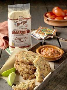 Savory Amaranth Fritters