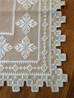 ideas about Hardanger Embroidery Embroidery Designs, Types Of Embroidery, Learn Embroidery, Hand Embroidery Stitches, Embroidery Techniques, Cross Stitches, Bookmark Craft, Drawn Thread, Hardanger Embroidery
