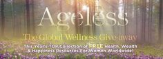 I'm registered for AGELESS! Come join us!