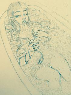 Melanie <3 Martinez // Fan Art by crybabydaydreams