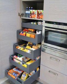 Kitchen pantry design – Small kitchen pantry – Pantry design – Home decor kitchen – Interior de – Kitchen Pantry Cabinets Designs Small Kitchen Pantry, Kitchen Pantry Design, Diy Kitchen Storage, Modern Kitchen Design, Home Decor Kitchen, Interior Design Kitchen, Kitchen Furniture, Kitchen Ideas, Furniture Storage