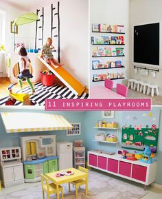 11 inspiring playrooms and play areas | TheMombot.com
