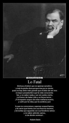 Ruben Dario - Lo Fatal