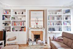 Achitecte intérieur - Realisation - Appartement Paris 8e - OUEST HOME Espace Design, West Home, Living Spaces, Living Room, Paris Apartments, Home Decor Styles, Home Office Decor, My Room, Building A House