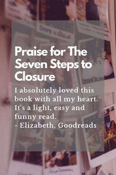 Get to know Tara in The Seven Steps to Closure. Read it now! Discovery News, The Seven, Sign I, Getting To Know, Announcement, Thankful, How To Get, Joy, Closure
