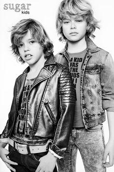 Erick y David de Sugar Kids para Babiekins
